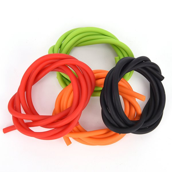 Outdoor Natural Latex Stretch Replacement Band Catapults Sling Rubber 1.7x4.5mm 1m Elastic Slingshot Rubber Tube