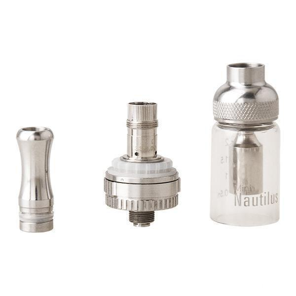 Hotting Nautilus & Nautilus mini Atomizer replacement Nautilus BVC coil Glass tube Tank 2ml 5ml e Cigarette dual Coils clearomizer