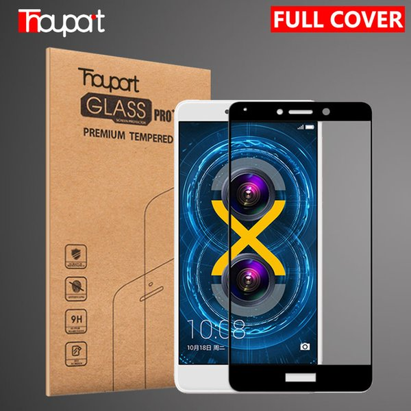 Huawei GR5 2017 9H Full Cover Tempered Glass For Huawei Honor 6X Glass Mate 9 Lite Screen Protector Honor 6x Film