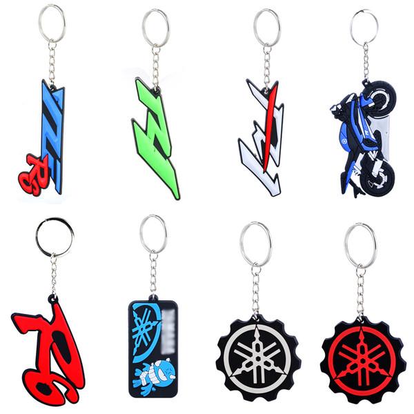 Motorcycle Keychain Yamaha logo key chain motorcycle fan accessories buckle keychain fans car key chain