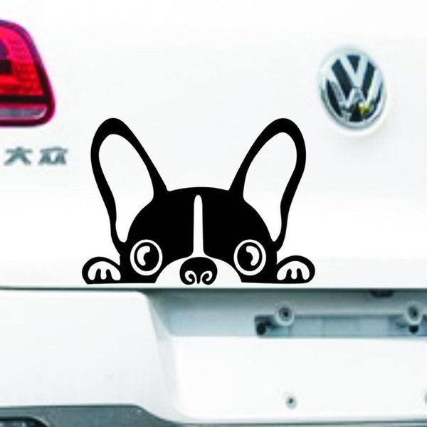 أزياء لطيف لالمصد الباب الساخن بيع الكلب ملصقات السيارات نافذة eage الأمن CA-358