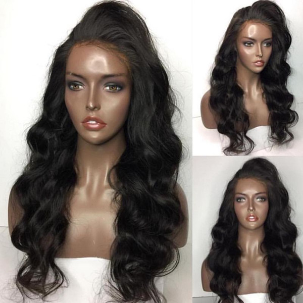 10A Human Hair Wigs For Black Women Brazilain Peruvian Big Bodywave Loosewave Full Lace Wigs And Lace Front Wigs