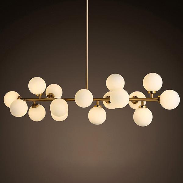 Mordern Retro luminaires suspendus lustres de sala industriel suspension en fer Lampe pour cuisine salle à manger Luminaires Éclairage de luminaire