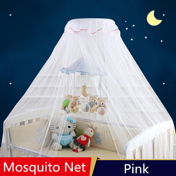 Baby Cot Mosquito Net,Canopy Baby Cribs,Portable Bed Curtain,Child Kids Mosquito Nets Cradles Netting,Mosquitero