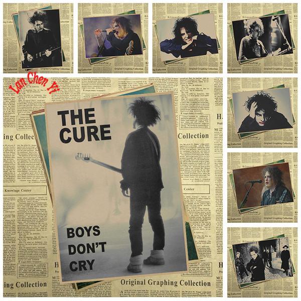 Die Heilung Rock Band Musik Kraftpapier Poster Wohnzimmer esszimmer Wand Dekorative Gemälde