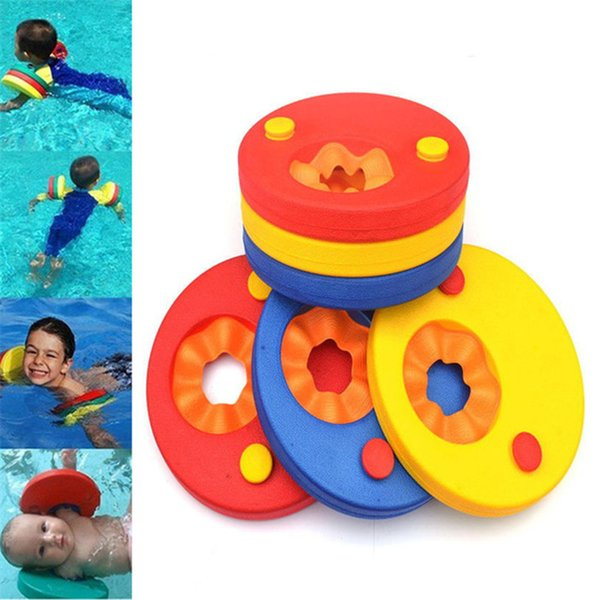 Swimming Discs EVA Foam Soft Arm Bands Float For Swimming Inflatable Swimming Float Baby Kids Children Water Sports In Pool Beach
