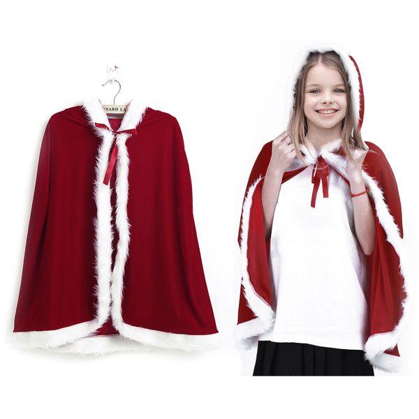 2019High quality winter bridal cloak, long cape, cape, shawl, shawl cloth, with faux fur chapel, red