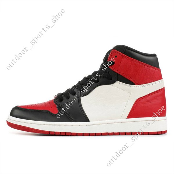 #10 Bred Toe(side with black tick)