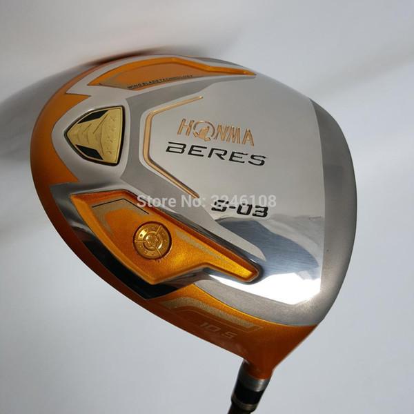 Clubes de golf HONMA S-03 4Star Golf driver 9.5 o 10.5 loft Graphite Golf eje R o S flex Clubs driver Envío gratis