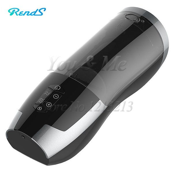 2017 New Japan Rends Automatic Telescopic Piston Heating Male Masturbator Cup Sex Machine Electric Sex Toys for Men Rechargeable D18110703
