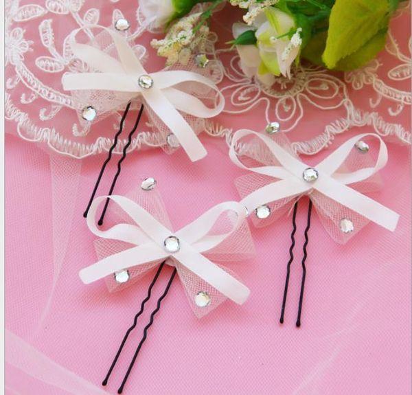 Bride, handmade butterfly, hairpin, ribbon, bow tie, net speed, hair accessories, wedding accessories, photo studio, wedding decorations.