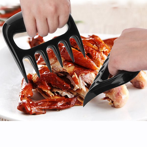 New Kitchen Utensils Barbecue Tools Bear Paws Meat Handler Forks with Claws Meat Claws Bear Claws Pork Floss Maker