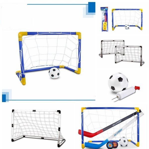 DIY Football Door Extra Large Size Outdoors Children Toy Kindergarten Abs Sports Toys Plastic Ice Hockey Portable Small 29 8ks cc