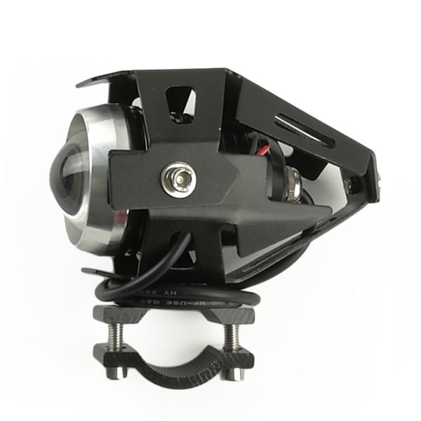 HZYEYO Motosiklet LED sürüş Sis Başkanı Spot Işık Beyaz lamba farlar için moto aydınlatma P-011
