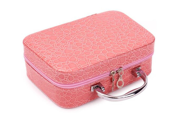 HUAPIN Korean version of the stone pattern portable cosmetic bag small portable large-capacity cosmetic case