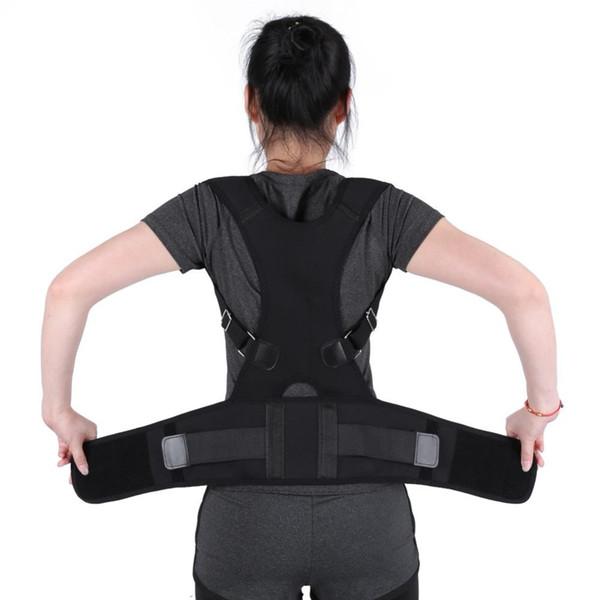 Adjustable Back Support Posture Corrector Spine Support Posture Correction Shoulder Lumbar Back Belt Support Brace For Men Women