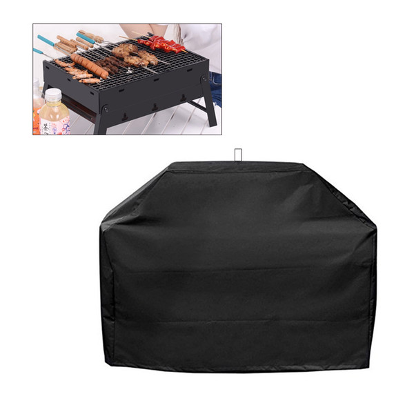 BBQ Grill Cover Waterproof Heavy Duty Patio Outdoor Oxford Barbecue Smoker Grill Cover bbq accessories