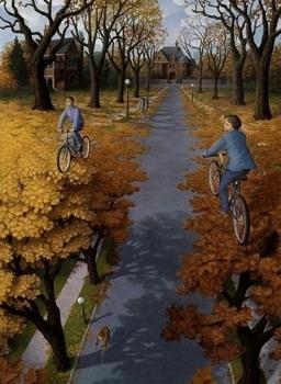 Framed ROB GONSALVES - Hojas,Amazing Quality Famous Art Oil Painting Canvas Multi Sizes Free Shipping RG006
