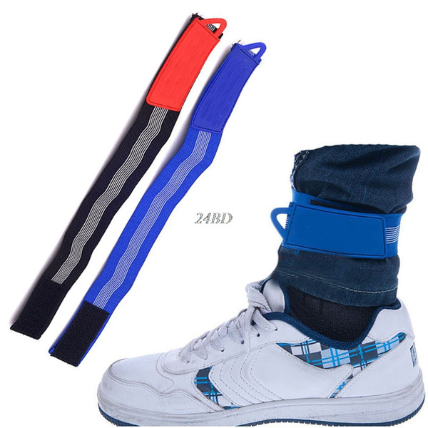Flexible Bicycle Bike Reflective Leg Pants Band Belt Rubber Strap Bandage Gaiter S09
