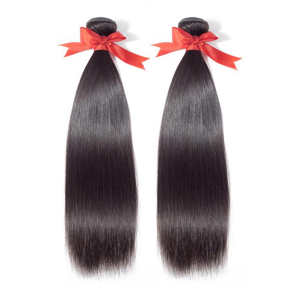 Malaysian straight hair weave bundles Beaudiva 8A Malaysian virgin hair straight 100% human hair extensions tangle free