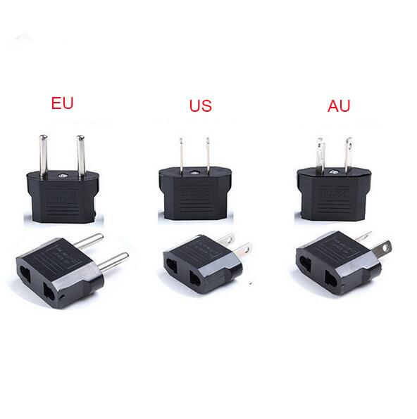 top popular Universal Travel Adapter AU EU US to EU Adapter Converter Power Plug Adaptor USA to European 2020