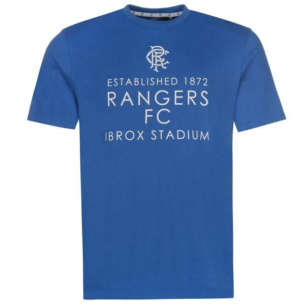 Camiseta de Glasgow Rangers Ibrox para hombre Camiseta de fútbol de fútbol real Camiseta