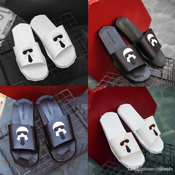 Hot Sale Slippers flip flops for G G men's causal women High quality Galeries lafayette Summer outdoor beach sandals slippers Size 35-4