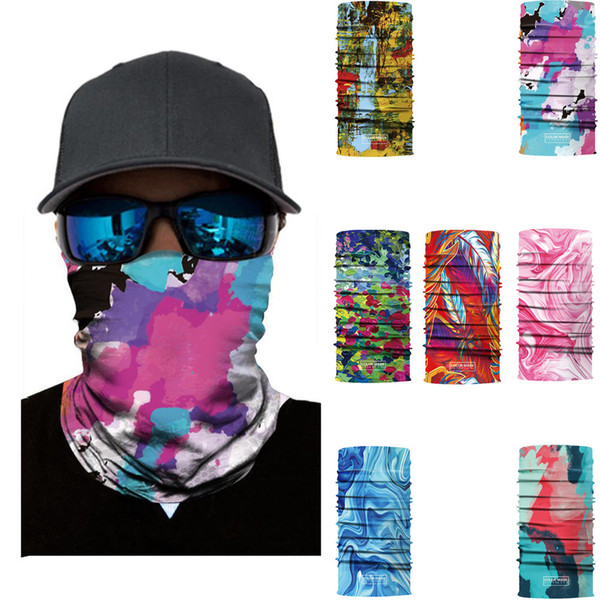 Face Mask Mix of Devil and Angel Outdoor Masks Riding Cycling Neck Tube Warmer Protector Ski Scarf Balaclava Neck Warmer