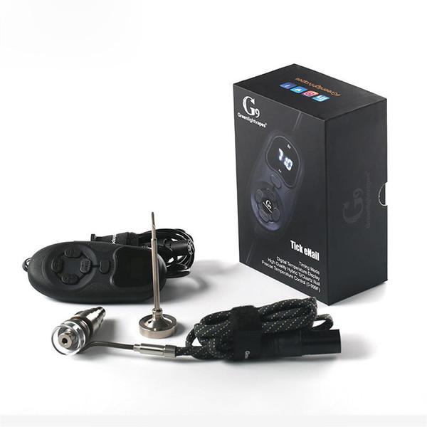 Newest Wax Vape Portable Oil Dab Rig shisha Electric Dab Nail G9 Tick ENAIL Temperature Controller D Nail Dab For Wax Concentrate