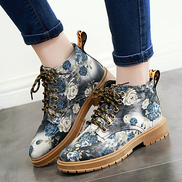 Ladies boots fashion Chinese style limited edition leisure women shoes breathable high-end material warm canvas shoes leisure boots