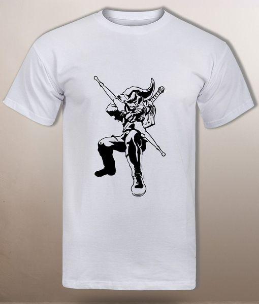 Camiseta Manga Larga de Hombre Zelda Link Ocarina