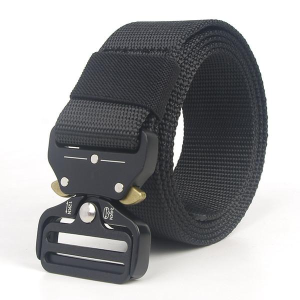 2018 Army Tactical Waist Belt Man Jeans Male Military Waist Casual Canvas Webbing Nylon Duty Strap Belt DHL