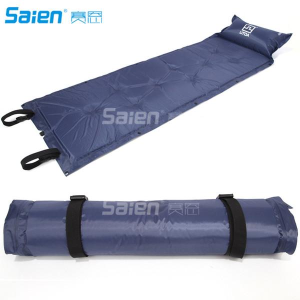 Kissen wasserdicht automatische aufblasbare selbstaufblasende feuchtigkeitsbeständige Isomatte Zelt Luftmatratze Matratze Outdoor Camping