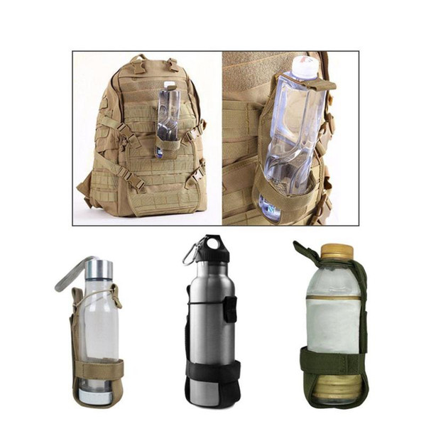 Outdoor tactical kettle bag cover adjustable portable water cup set water bottle bag hanging bag insulation cup waist seal backpack pendant