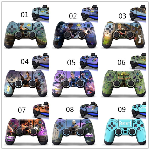 2019 Dhl Hot Game Fortnite Battle Royale Skin Sticker Decal For Ps4 Ps4 Slim Ps4 Pro Controllers Stickers Cartoon Vinyl Sticker From Air11 097