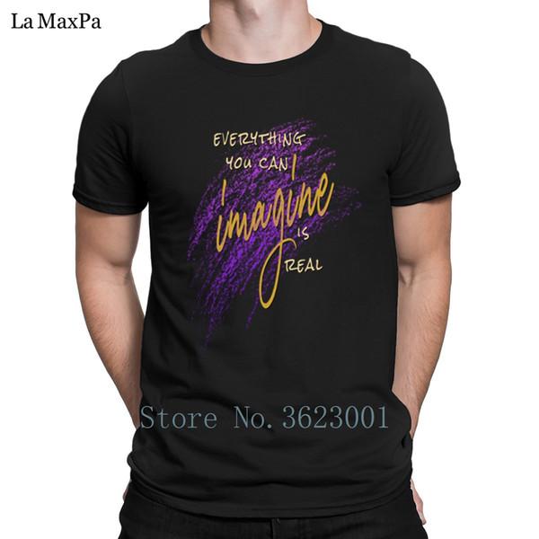 Bâtiment Classique Hommes Tee Shirt Tout Ce Que Vous Pouvez IMAGINER Est Vrai T-Shirt Pour Hommes Unisexe T-shirt Homme Humoristique T-shirt Coton Cadeau