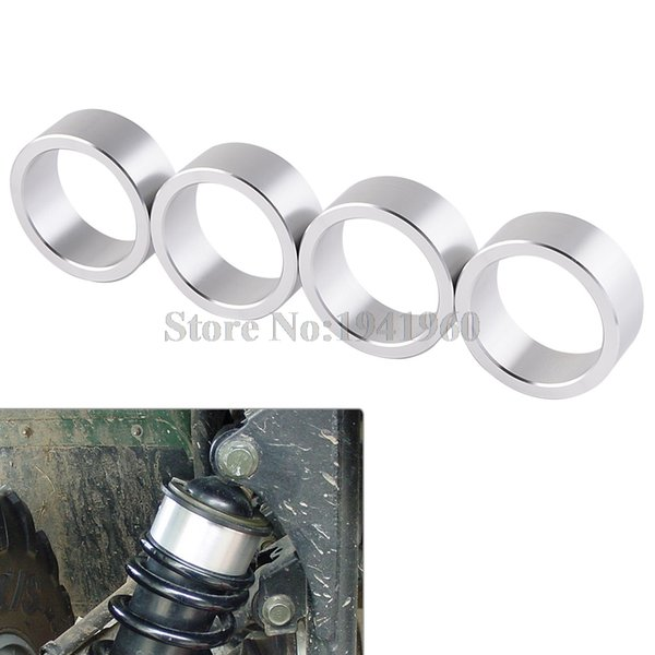 best selling NICECNC 4Pcs Motorcycle CNC ATV Spacer Lift Kit For Arctic Cat 250 300 350 400 450 500 550 650 700 1000 1999-2012 2013 2014 2015