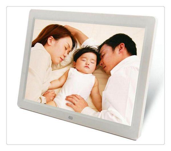 Free shipping DHL Digital Photo Frames 7inch TFT LCD Wide Screen Desktop Digital Photo Frame glass Photo Frame