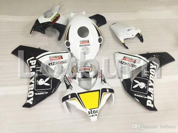 High Quality ABS Plastic Fit For Honda CBR1000RR CBR1000 CBR 1000 RR 2008 2009 2010 2011 Moto Custom Made Motorcycle Fairing Kit A535