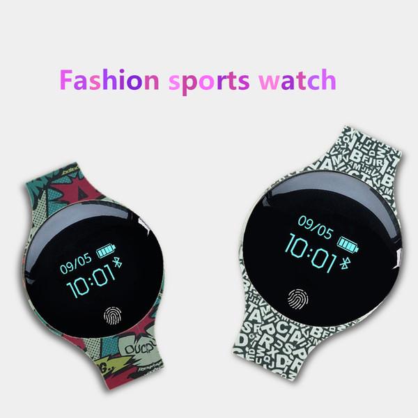 NEW H8 smart sports watch, children's cartoon Bluetooth watch, waterproof silicone strap, children's fashion watch, IP65 life waterproof.