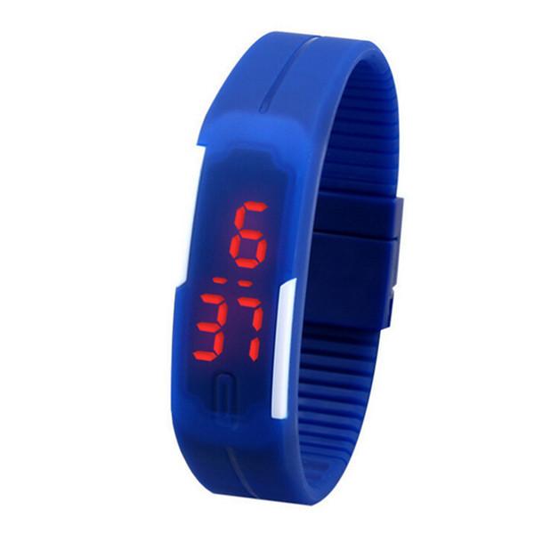 1Pc LED Wristwatch Kids Watches Silicone Wrist Strap for Women Children Hours Digital Bracelet Sports Wristwatch