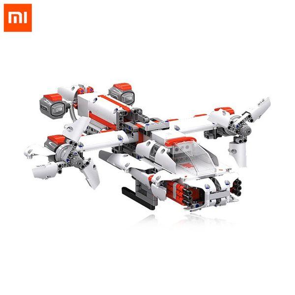 Xiaomi MITU Robot DIY Mobile Phone Control Self-assembled Robot Building kits Toys for Children CPU Cool Builder Robot
