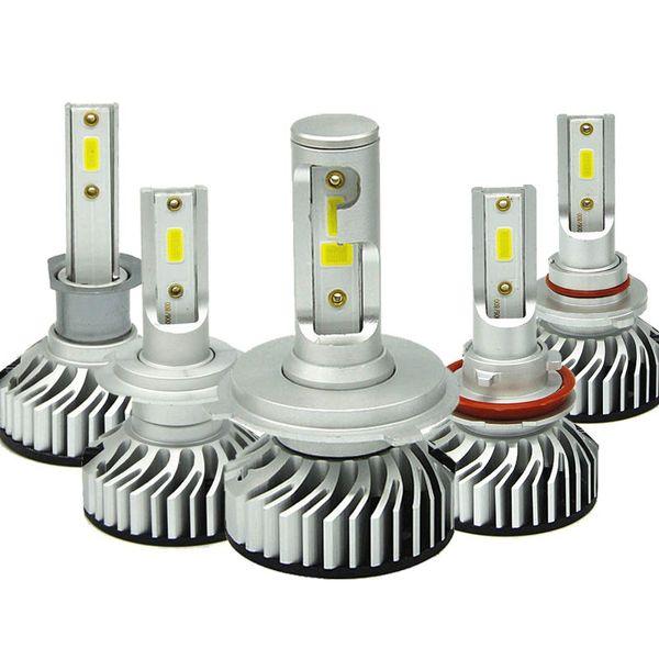 toute la vente 50 ENSEMBLES LED H7 H11 H4 H3 H7 45W 6000K led phare