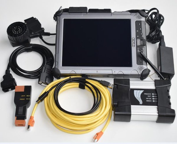ISTA D/P multi language For BMW ICOM Next Diagnostic & Programming Tool with XPLORE ix104 rugged 4gb Laptop i7 touch ssd