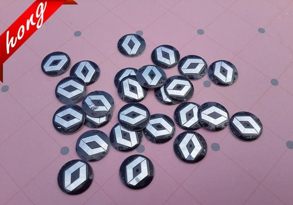 5PCS 14mm High quality Car Renault logo Auto Key Fob Emblem Badge Sticker Auto accessories Free shipping
