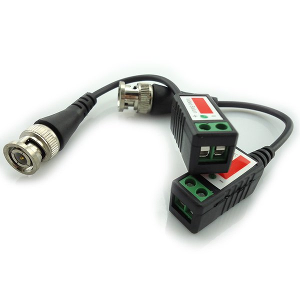 20piece 3000FT Entfernung UTP Video Balun Twisted CCTV Balun Passive Transceiver BNC Kabel Cat5 CCTV Adapter