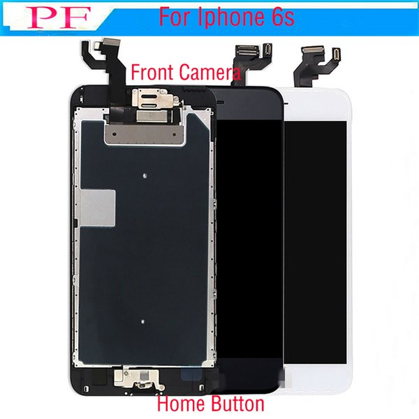 Grade A+++ LCD Display For Apple iPhone 6S Touch Screen Digitizer Frame Full Set Assembly Replacement + Home Button + Camera
