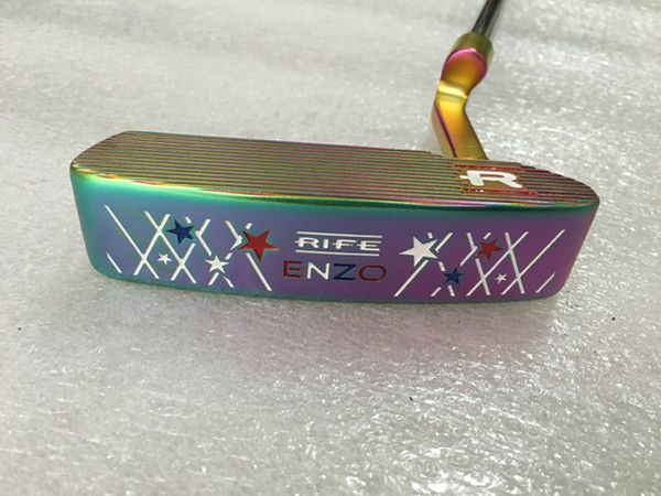 TOP quality golf clubs plum ENZO golf putter with headcover and shaft golf clubs free shipping