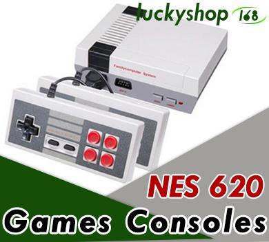 50X DHL Nueva llegada Mini TV Videoconsola Videoconsola para consolas de juegos NES con cajas al por menor venta caliente B-GB
