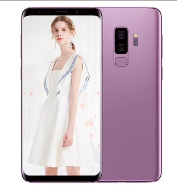 ERQIYU Goophone S8 S8+ android 7.0 unlocked 6.1 inch smartphones shown 4G LTE 4G RAM 64G ROM 3G Cell phones